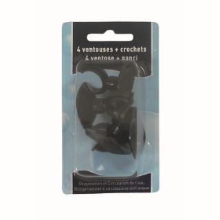 Ventouses / crochets pour aquarium x 4 365980