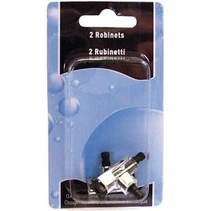 Robinet pompe à air tube 4/6mm x2