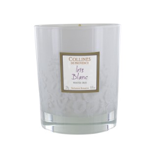 Bougie Parfumée à lIris blanc 250 gr