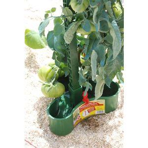 Réservoir 2L système de goutte à goutte pour tuteur à tomate - vert
