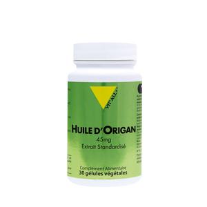 Extrait standardisé d'huile d'origan en boite de 30 gélules 370326