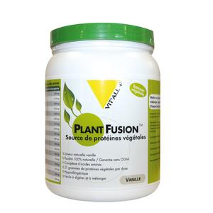 Protéines végétales plant fusion à la vanille en boite de 454 g 370328