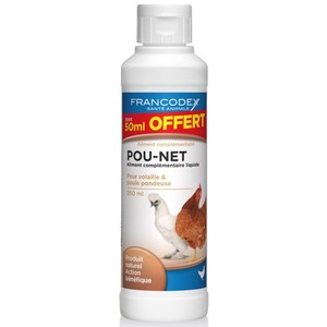 Pou-net volaille en flacon blanc de 250 ml dont 50 ml offert 371046