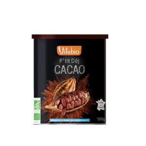 Cacao en poudre p'tit dej Vitabio 500 g