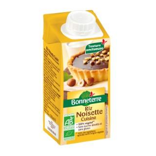 Aide culinaire à la noisette Bonneterre bio 200 ml 373726