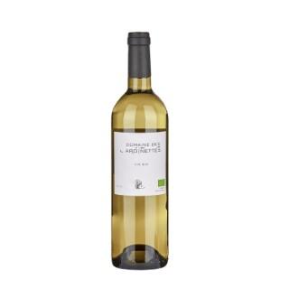 Vin blanc bio méditerranée IGP domaine des Jardinettes 75 cl 373812