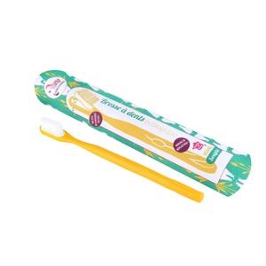 Brosse à dents Souple jaune 374307