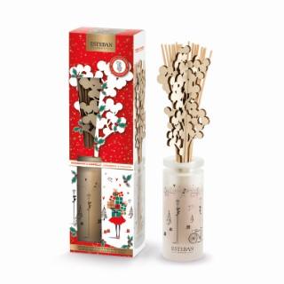 Bouquet parfumé + recharge Cranberry Cannelle 100 ml