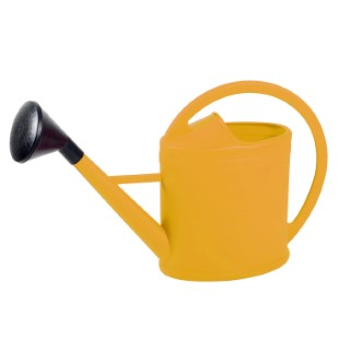 Arrosoir ovale parisien couleur miel – 6L 375062
