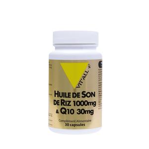 Complexe d'huile de son de riz et de Q10 en boite de 1000 mg 375486