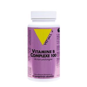 Complexe de vitamine B à action prolongée en boite de 60 comprimés 375499