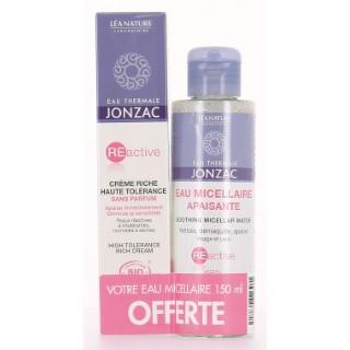 Crème riche Reactive Bio 40 ml + eau micellaire Reactive 150 ml 375513