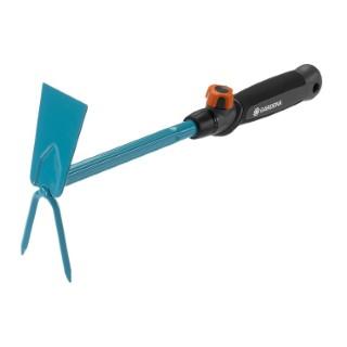 Serfouette à fleur Gardena Combisystem bleu/gris 5 cm 378642