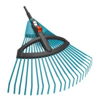 Balai à gazon réglable bleu 32-52 cm Gardena 378649