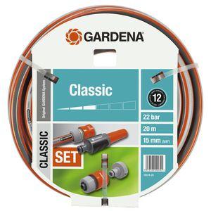 Batterie de tuyau Classic coloris gris Ø 15 mm x20 m 378676