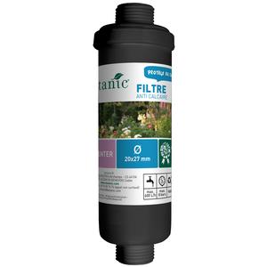 Filtre anti calcaire mâle de filetage 20 x 27 mm