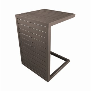 Table basse 2 positions marron 379207