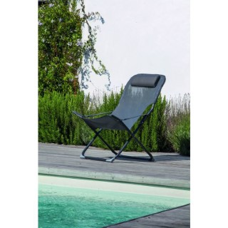 Fauteuil Relax Easy gris 379211