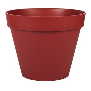 Pot gamme Toscane rouge Ø 40 cm 379387