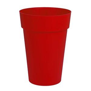 Vase haut de la gamme Toscane rouge Ø 46 cm 379390