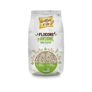 Flocons d'avoine sans gluten bio 500 g