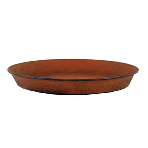 Soucoupe pour pot Reb Brun antique - Ø 21 cm x H3 cm 382217