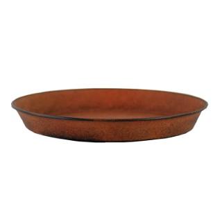 Soucoupe pour pot Reb Brun antique - Ø 26,5 cm x H3,5 cm 382227