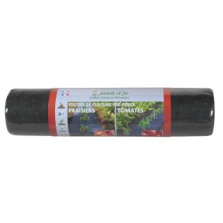 Feutre de culture pré-percé fraises et tomates - 5 m 382231