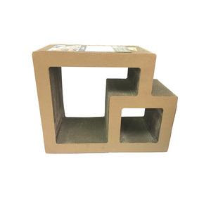 Griffoir pour chat Scratcher double square Ramp 50x23x40 cm 385520