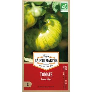 Graines de Tomate Green Zebra bio en sachet 386735