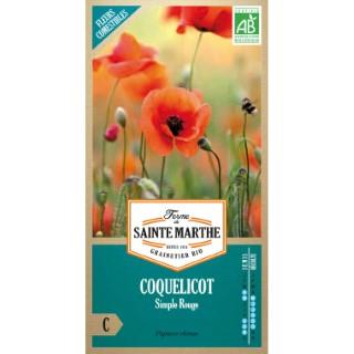 Graines de Coquelicot simple rouge en sachet 386762