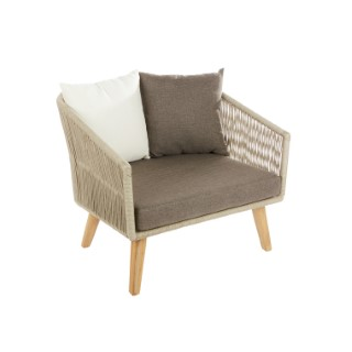Fauteuil bas Orchis