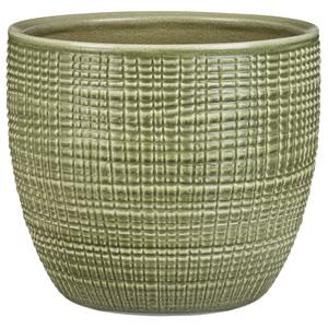 Cache-pot 866 Menta Ø 25 x H 22,1 cm Céramique émaillée 386955