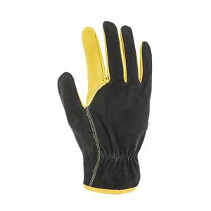 Gants Forestiers coloris noir en cuir Taille 10 388181