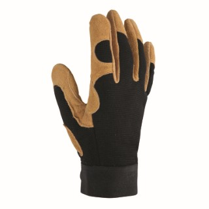 Gant Control coloris Marron en polyester et cuir Taille 10 388194