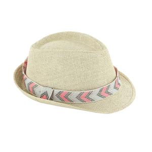 Chapeau de paille Elisa taille ajustable 388721