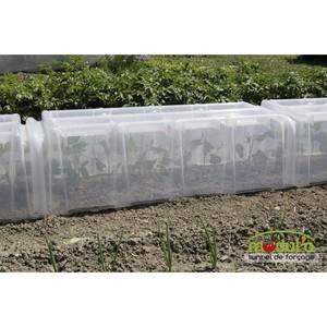 Kit modulable tunnel de for age serres et protection des cultures pouss 39 vert potager botanic - Tunnel de protection pour potager ...