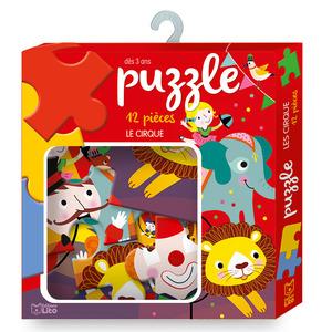 Le Cirque Ma boîte à Jeux-Puzzle 3 ans Éditions Lito 395974