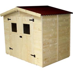Abri Savoie 5,04 m2 avec plancher livré et monté 396370