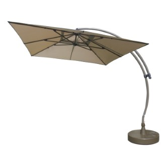 Kit Easy Sun parasol déporté Ø 320 cm Taupe 397015