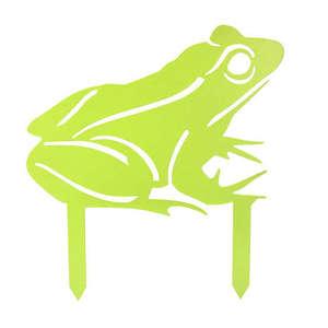Statue de jardin à planter grenouille vert H 55 cm 398199