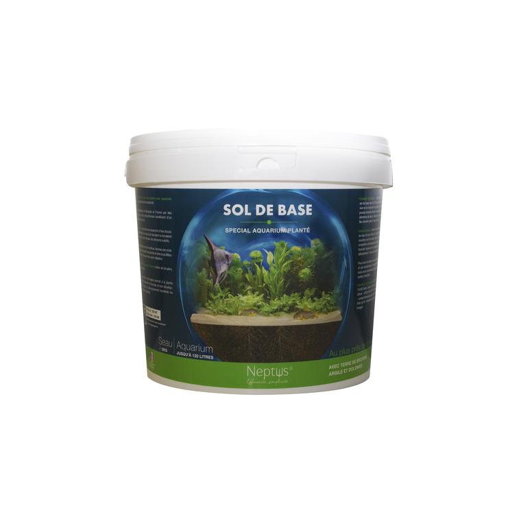 Sol de base pour aquarium - seau de 6 kg NEPTUS