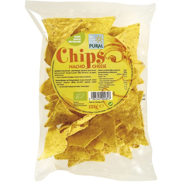 Chips maïs fromage PURAL