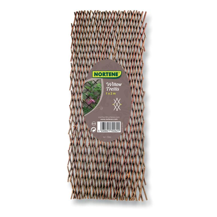 Treillis en osier Willow, 100 x 200 cm 308342