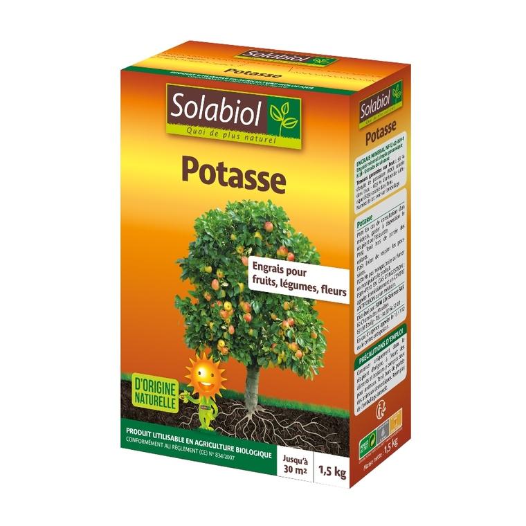 Potasse Organique 1,5 kg 8,7x19,1x26,7 cm 309651