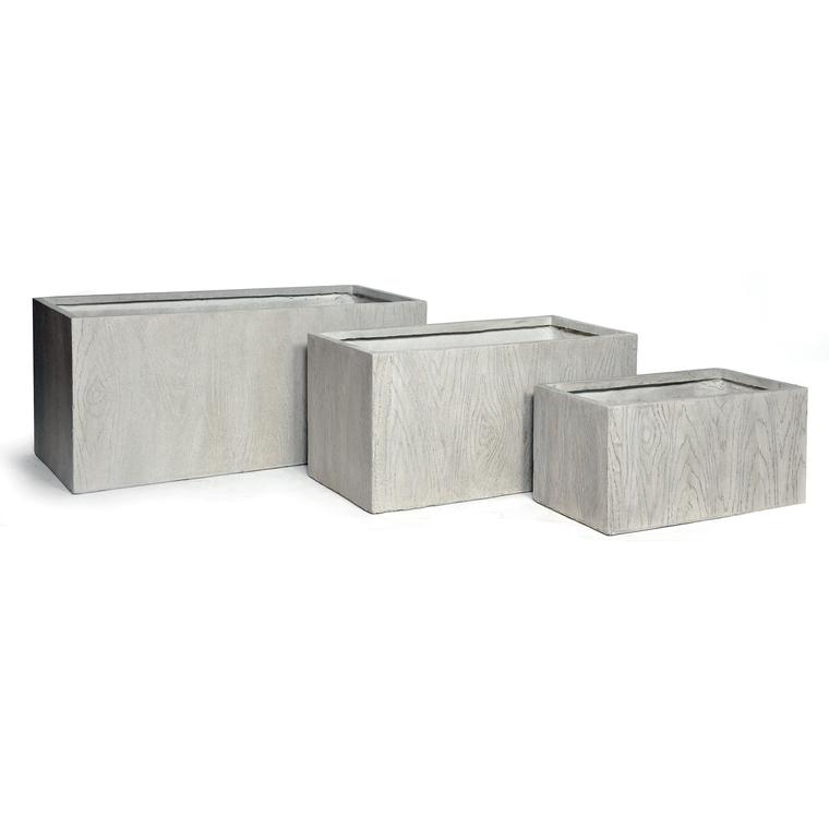 Très grand Bac rectangle LIA S/3 gris de 202,5L 313766