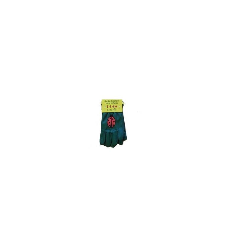 Gants de jardinage pour enfant motif coccinelle 314901