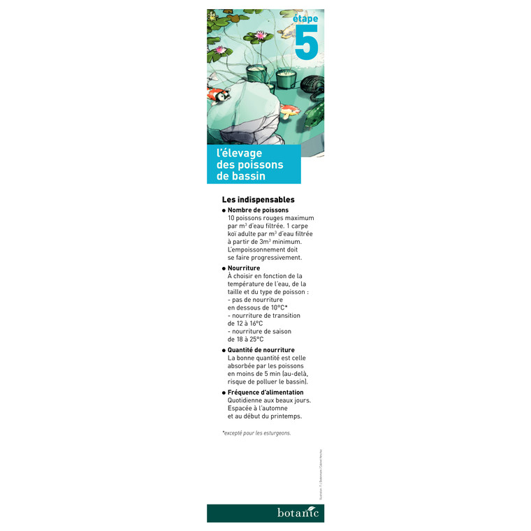 Nourriture poisson de bassin Ichi food summer mini 2 kg 319216