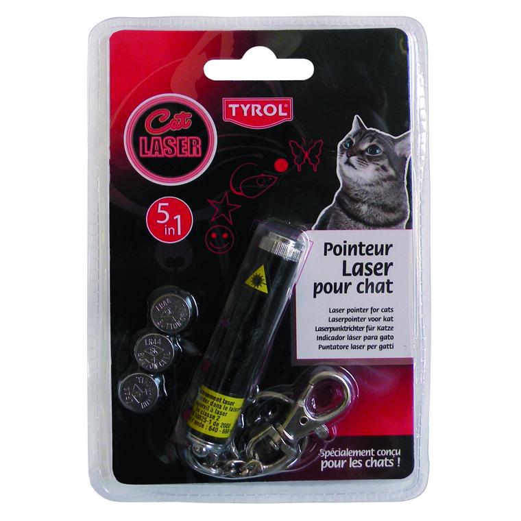 Pointeur laser 5 in1 Tyrol 325592