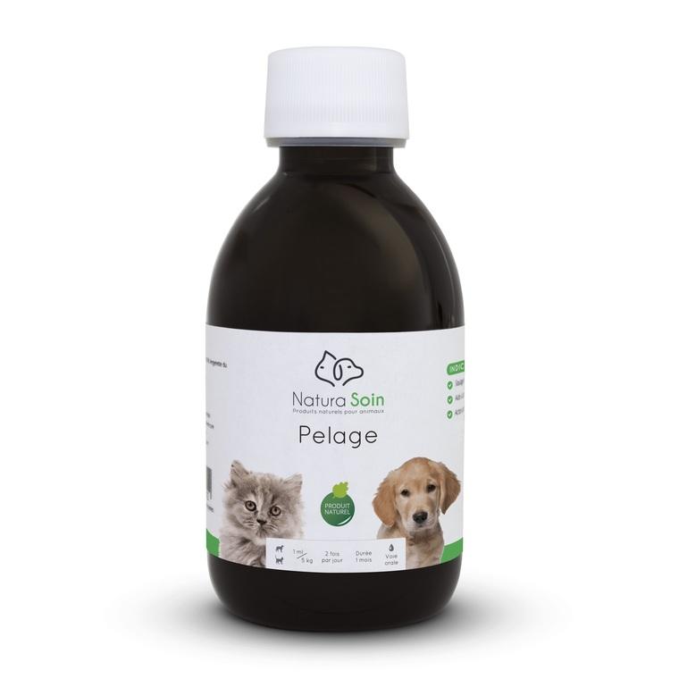 Complément alimentaire pour chien et/ou chat - Pelage (200 ml) 329099